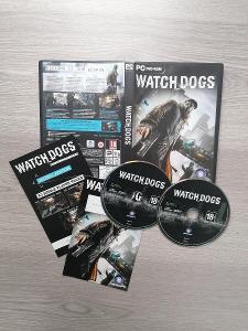 Watch Dogs CZ verze PC hra pro sběratele, top stav