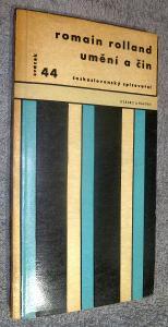 Umění a čin / Romain Rolland / 1963 Československý spisovatel