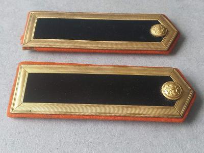 Uniforma Výložka Železnice Policie Armáda  Odznak Vyznamenání R.U. Top
