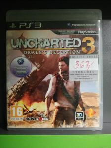 Uncharted 3: Drakes Deception CZ (PS3) - kompletní, jako nová