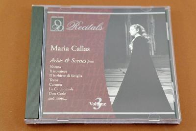 MARIA CALLAS Recitals Vol.3 - Arias & Scenes from Operas (CD)