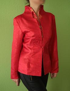 Nový originální čínský kabátek - sako vel. 40-42