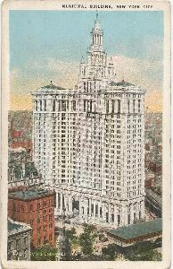 MUNICIPAL BUILDING - New York - USA