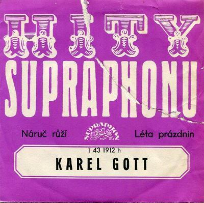 SP Karel Gott - Náruč růží / Léta prázdnin - 1975