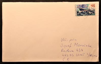 Slovensko - poštovní obálka