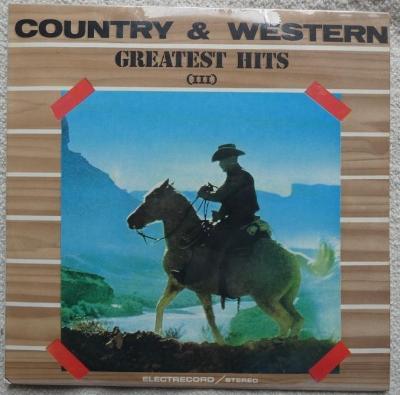 Alexandru Andrieș – Country & Western Greatest Hits (III)- LP 1986
