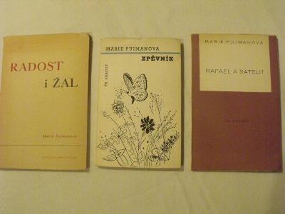 Tři básnické sbírky Marie Pujmanové