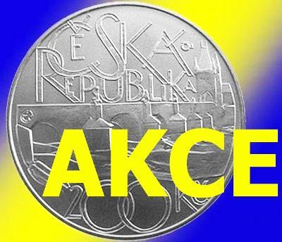 AKCE: 77x Karlův most Proof jen 777 Kč ! Máme skladem 25.000 mincí ČNB