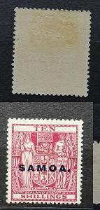 Britská Samoa 1932 - * známka 10s 50£