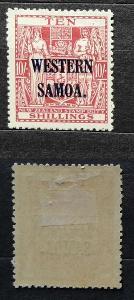 Britská Samoa 1935 - * známka 10s 70£