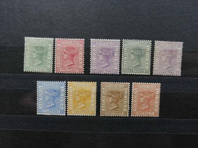 Sierra Leone 1884- * kompletní definitiva Viktorie 120£