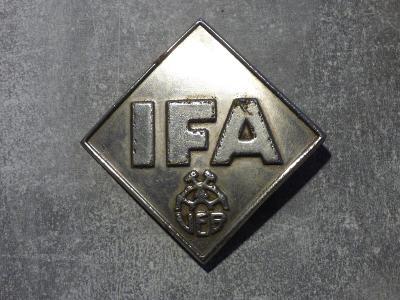 IFA-chladičák velký, starý jistý originál, pěkný