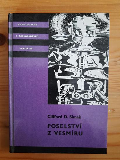 Poselství z vesmíru Vlifford D. Simak - Knihy