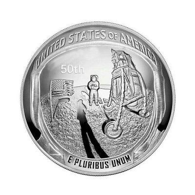 Pamětní mince - Apollo 11