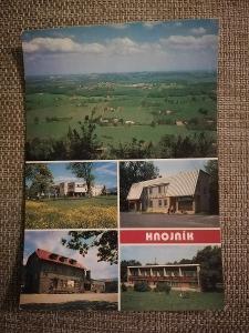 Pohlednice - Hnojník, neprošla poštou