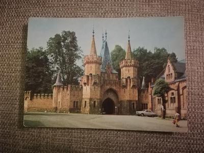 Pohlednice - Hradec u Opavy, neprošla poštou