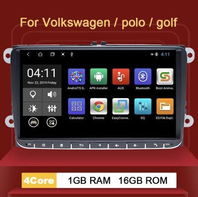 ✅ ANDROID 9.1 2din autorádio rádio pro SKODA VW SEAT, kamera zdarma