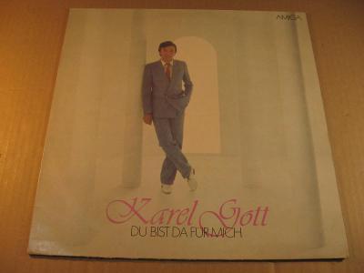 Gott Karel DU BIST DA FÜR MICH 198? Amiga LP