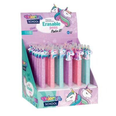 Gumovací pero Colorino Unicorn