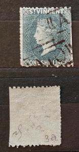 Svatý Vincent 1866 - SG9 140£