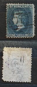 Svatý Vincent 1869 - SG13 90£