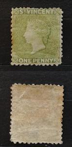 Svatý Vincent 1880 - SG29 180£ bez lepu