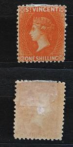 Svatý Vincent 1883 - SG45 150£