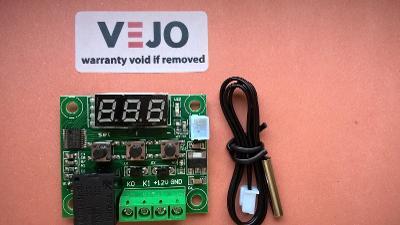 Digitální termostat teploty W1209