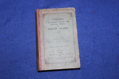 LITURGIKA 1895, KNIHA