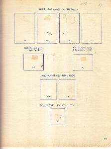 ČSR Albové listy Pofis rok 1972 strana 266 - 272