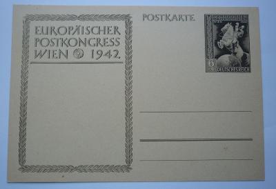 POSTKARTE POHLEDNICE III. ŘÍŠE - NEPOUŽITÁ - DEUTSCHES REICH WIEN 1942