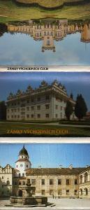 leporelo zámky východních Čech