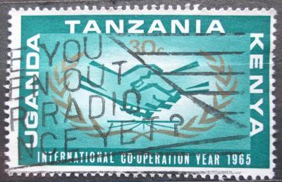 K-U-T 1965 Rok mezinárodní spolupráce Mi# 144 2196