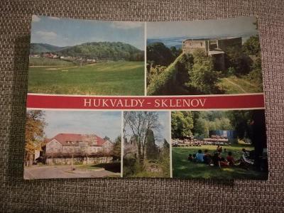 Pohlednice - Hukvaldy-Sklenov, neprošla poštou