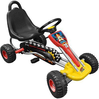 Šlapací motokára Stamp Go Kart Mickey Mouse /B056