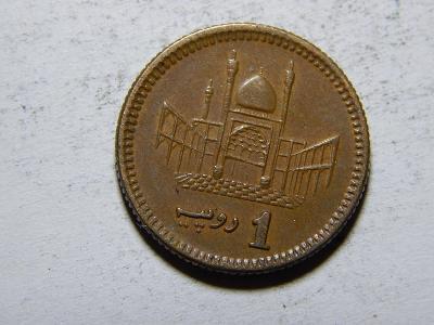 Pakistan 1 Rupee 2003 UNC č20306