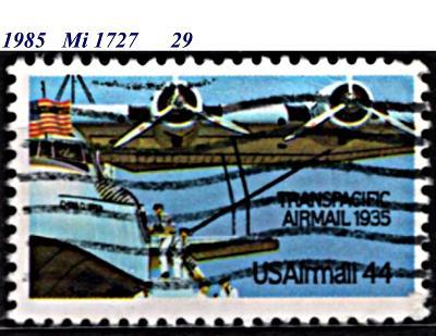 USA 1985, letecká, letadlo Martin M-130