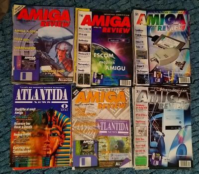 AMIGA REVIEW ATLANTIDA NEWS 29ČÍSEL 0, 1, 6, 9-13, 16-19, 21-28, 31-39