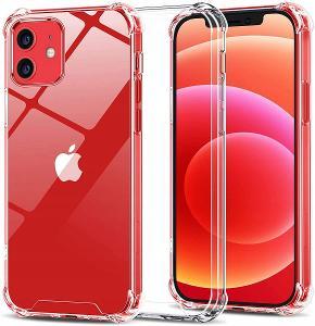 Iphone 12, kryt pouzdro obal silikonový ANTI SHOCK apple sh60