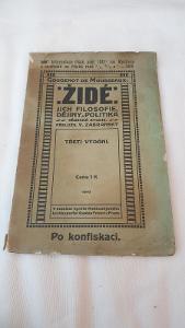 Židé jejich filosofie, dějiny a politika z roku 1910-