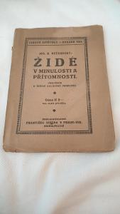 Židé v minulosti a přítomnosti z roku 1910