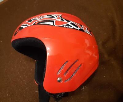 Lyžařská přilba, helma dětská vel.52-56 + dárek brýle