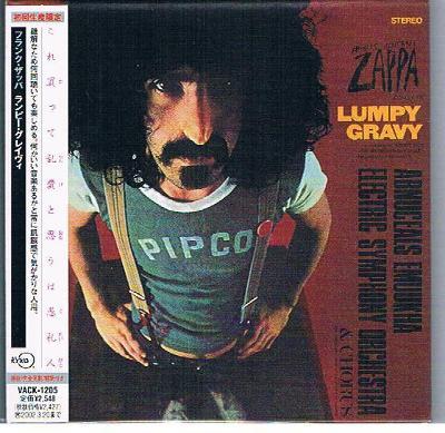 CD FRANK ZAPPA - LUMPY GRAVY / JAPAN PAPERSLEEVE / zapečetěné