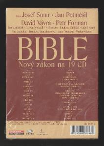 BIBLE Nový Zákon na 19 CD