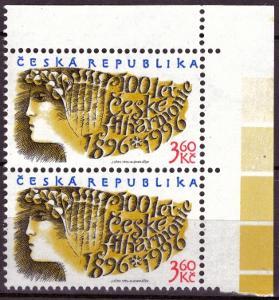 POF. 100 - 100 LET FILHARMONIE - ROHOVÁ 2-PÁSKA S DV 10/1 (T7591)