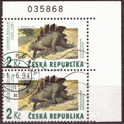 POF. 42 - JEŠTĚŘI 2 KČ - VV ZP 10 - ŽÁROVKA + ZELENÁ SKOBA (T7743)