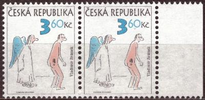 POF. 84 - HUMOR 3,60 KČ - KRAJOVÁ 2-PÁSKA, DV RYSKY PŘED NOHOU (T7780)