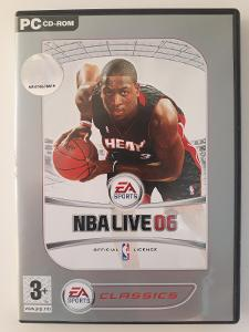 PC hra NBA LIVE 06