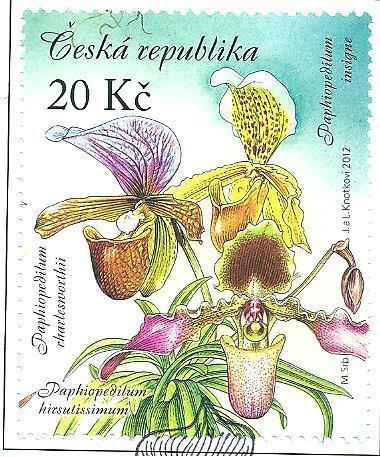 Pěstitel. - Krása orchid. 2012, raž. zn. sm. s raz. FDC, NL. k.č. 733.