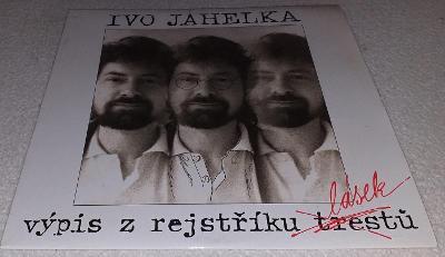 LP Ivo Jahelka - Výpis z rejstříku lásek